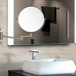 1/10x Magnifying Makeup Vanity Mirror Wall Mounted Dual Side