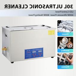 30L Ultrasonic Cleaner for Cleaning Jewelry Dentures Small P