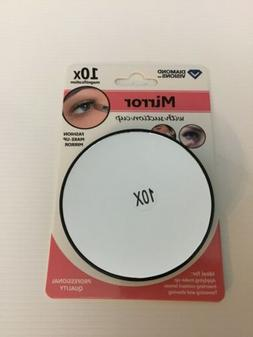 10x MAGNIFYING MIRROR WITH SUCTION CUP UNISEX FOR MAKEUP, SH