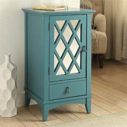 ACME Furniture Acme 97380 Ceara Floor Cabinet, Teal, One Siz