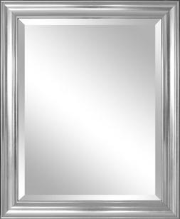 Alpine Mirror & Art 30413 Wall mirror, Silver