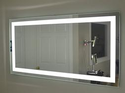 "Lighted Vanity Mirror LED MAM87236 Commercial Grade 72"" Wide"