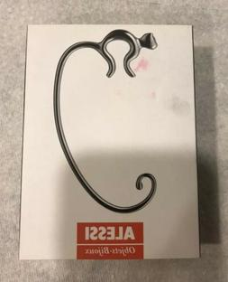 Alessi Aleesi FGO01 Minou Purse Hook, Silver Mirror Finish F