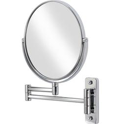 Chrome 8x8 in. Bathroom Double-sided Wall Mounted Vanity Mir