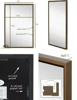 Clean Large Modern Copper Frame Wall Mirror | Contemporary P