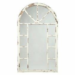 Signature Design by Ashley Divakar Accent Mirror, Antique Wh