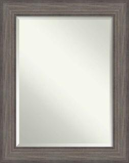 Amanti Art DSW4016413 Framed Country Barnwood Mirror for Wal