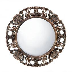 Eastwind Gifts 10017056 Heirloom Round Wall Mirror