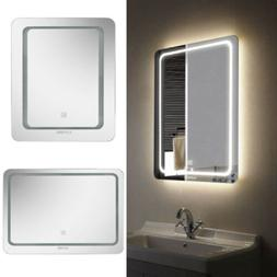 Fogless LED Bathroom Lighted Vanity Wall Mirror for Makeup w
