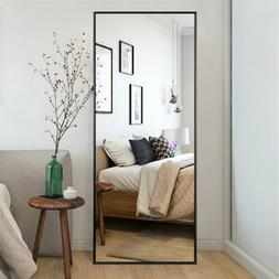 Full Length Mirror Bedroom Floor Mirror Standing Hanging Lar