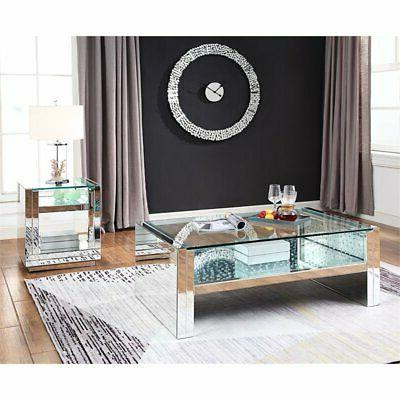 Acme Nysa Coffee Table in Mirrored