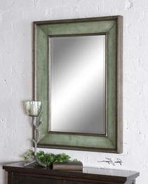 Uttermost 'Ogden' Antiqued Mirror - Metallic
