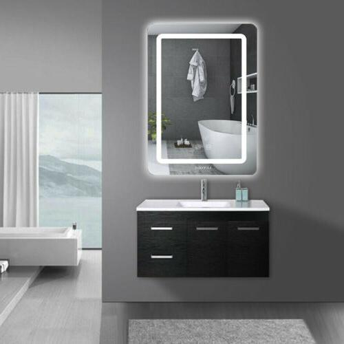 Bathroom Mirror Backlit ON/OFF Touch Switch Dimmable LED Wal