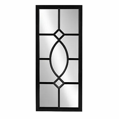 Kate and Laurel Window Wall Mirror - 13x30