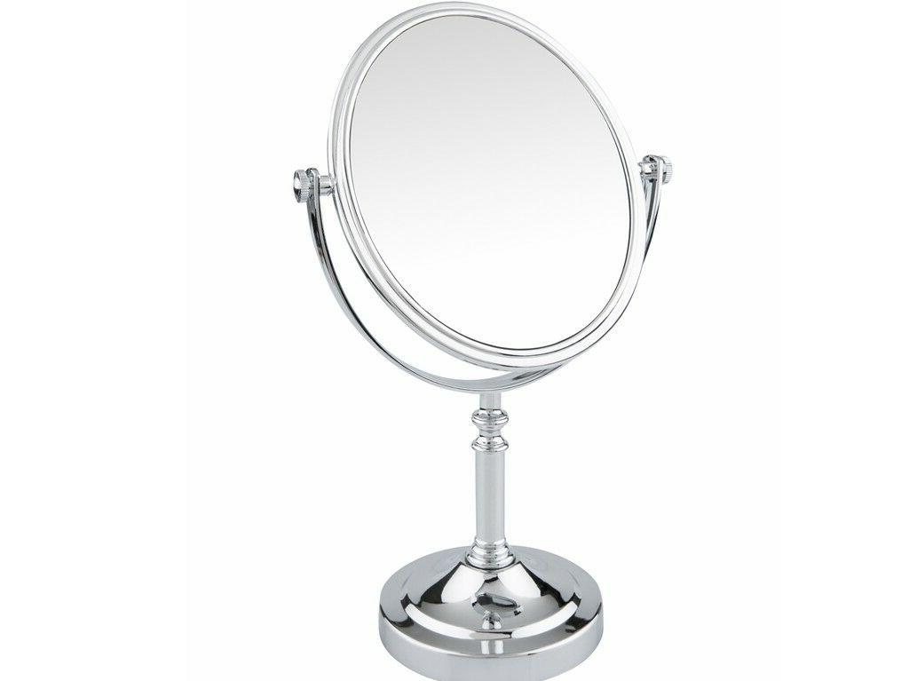 Double Sided Swivel Vanity Mirror with 3 x Magnification Chr