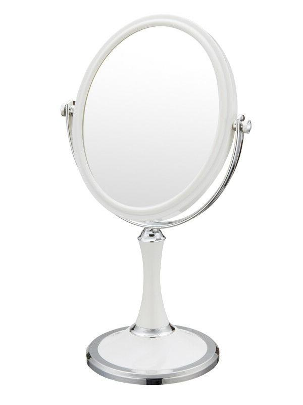 Double Sided Mirror with 3 Magnification,Tabletop Makeup
