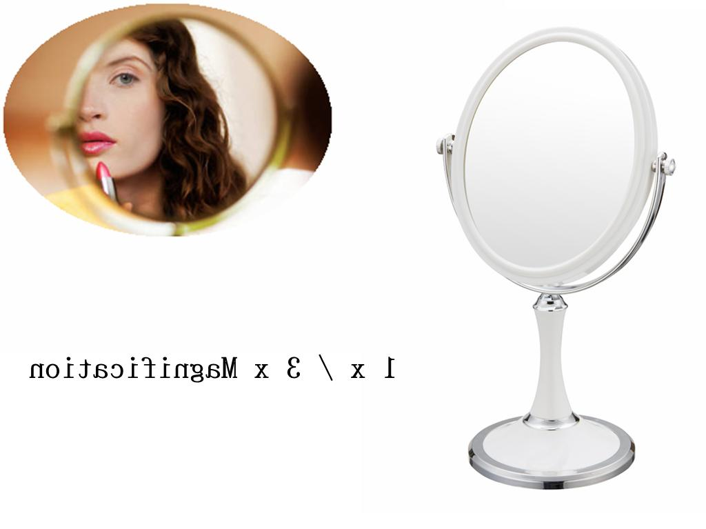 Double Swivel Mirror Magnification,Tabletop Makeup