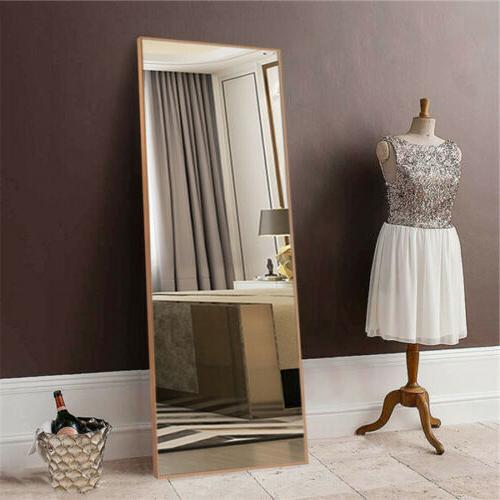 Large Mirror Floor Mirrors Full Body Length Bevelled Wall Mo