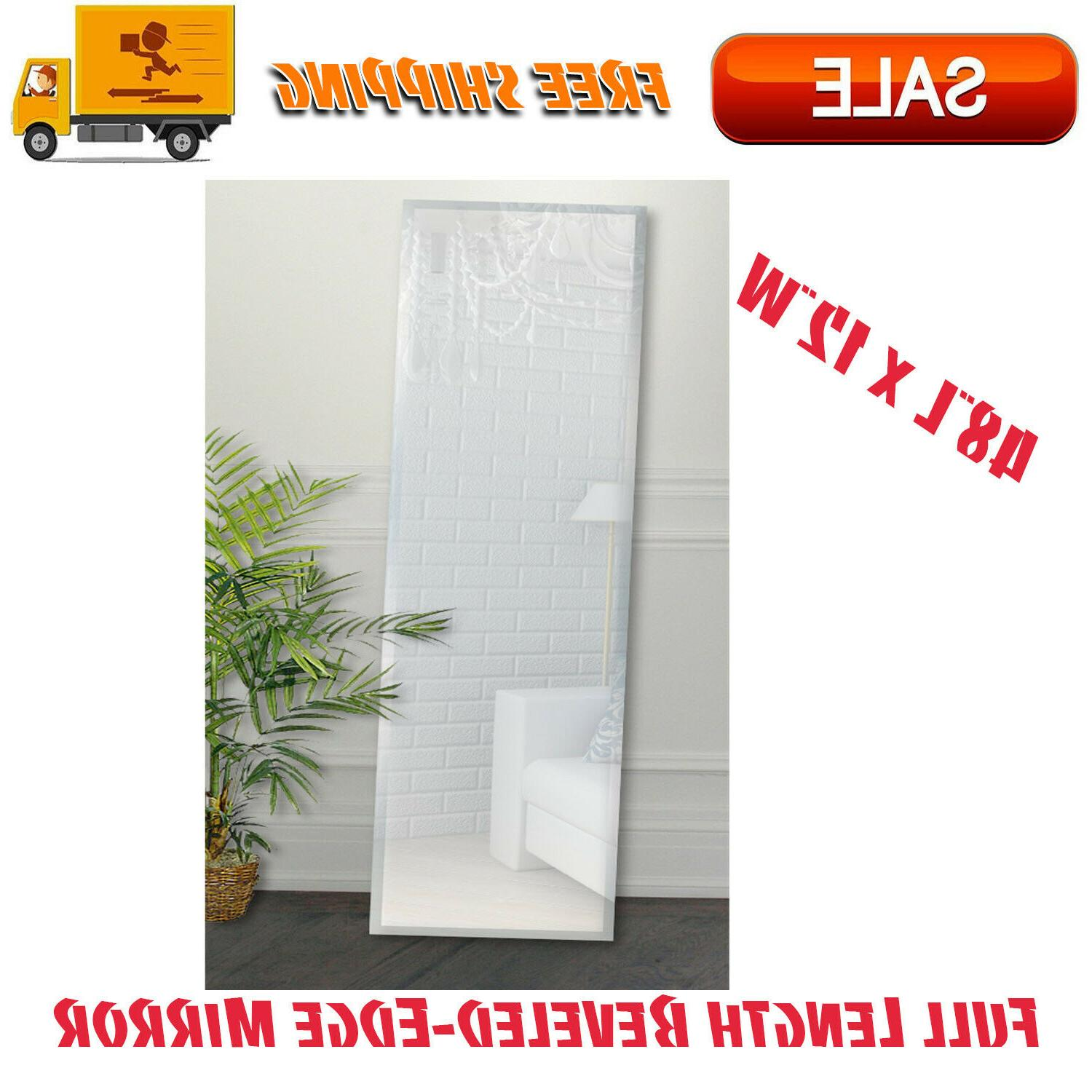 full length beveled edge mirror 48 x