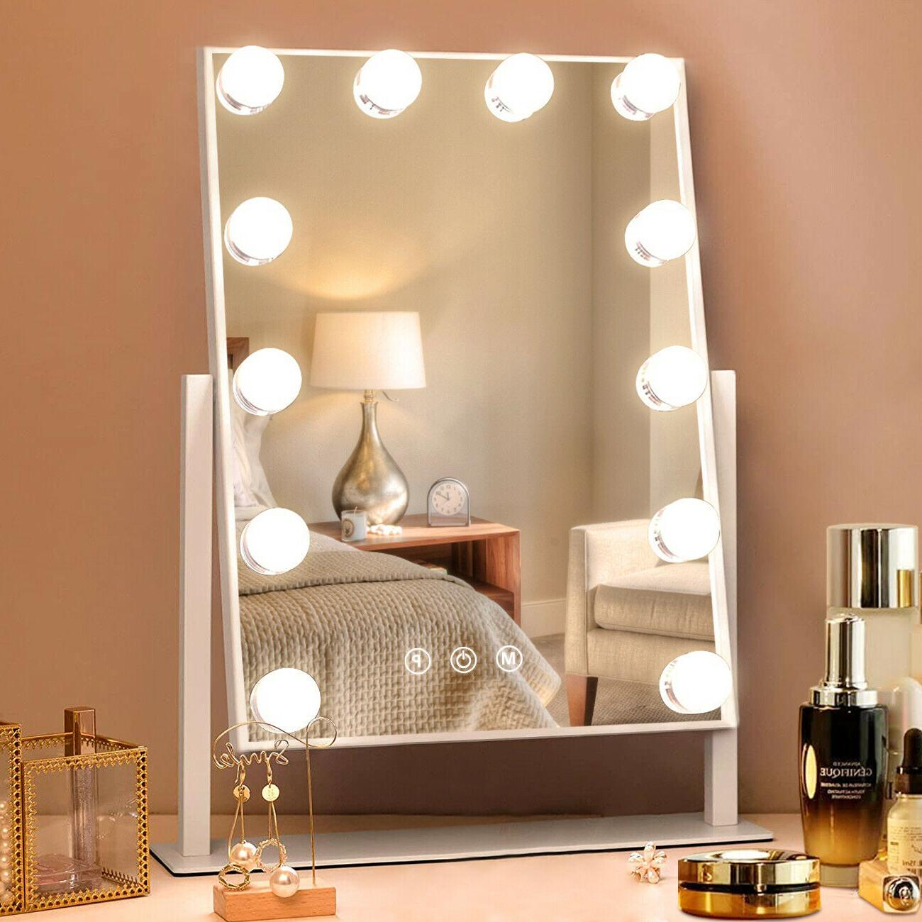 hollywood vanity makeup mirror with lights led