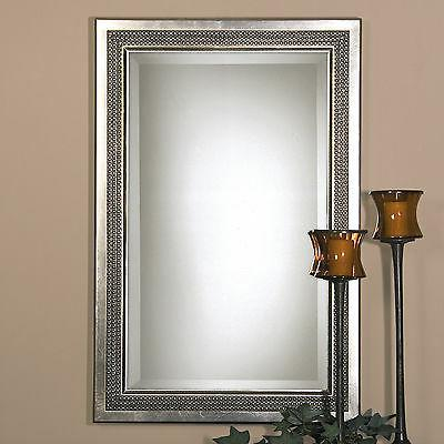 Uttermost Triple Beaded Vanity Mirror - 23W x 35H in.