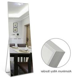Large Mirror Leaning Leaning Wall Floor Dressing Full Length