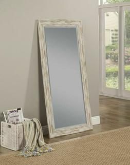 Leaning Mirror Farmhouse Leaner Shabby Chic Country Rustic W