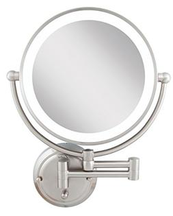 Zadro Light Dimmable Dual-Sided Glamour Wall Mount Mirror, S