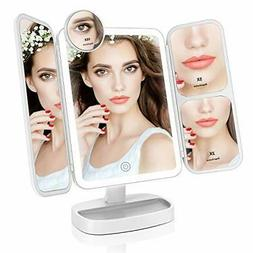 Easehold Makeup Mirror Vanity Lighted with 38 LED Soft Natur