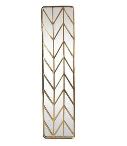 Kate and Laurel Marland Metal Chevron Handcrafted Wall Panel