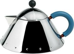 Alessi Michael Graves MG33 Decorative Teapot, Stainless stee