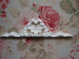 New! FRENCH BOW RIBBON FRAME/MIRROR TOPPER Architectural Fur