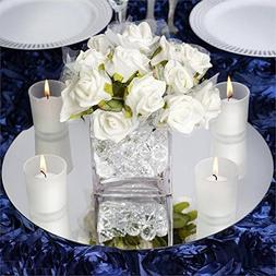 """14"""" Round Glass Mirror Wedding Party Table Decorations Cente"""