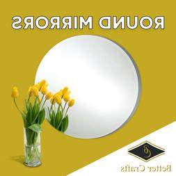 Round Glass Mirrors,Choose the Specific size and pack quanti