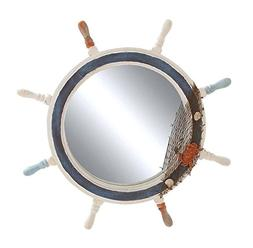 Deco 79 Ship Wheel Mirror with Highly Inspiring Decorative D
