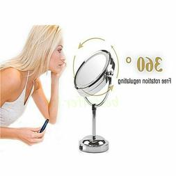 LED Light Double Side 3x Magnifying Make Up Mirror with Ligh