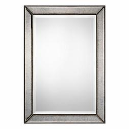 Uttermost Wood Mirror With Bronze Finish W00424